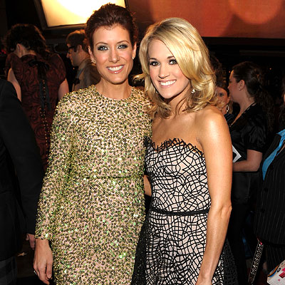 Kate Walsh and Carrie Underwood - 2010 People's Choice Awards