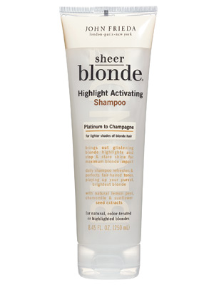 John Frieda Sheer Blonde Highlight Activating Shampoo