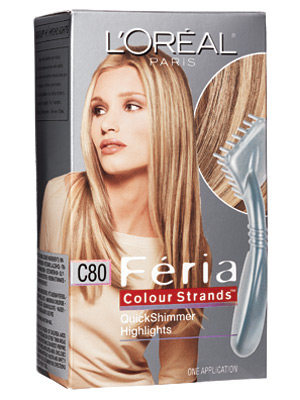 L'Oreal Feria Colour Strands Quick Shimmer Highlights