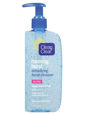 from Skylar clean clear oxygenating facial scrub