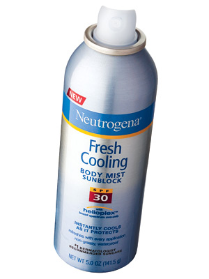 Neutrogena Fresh Cooling Body Mist Sunblock SPF 30