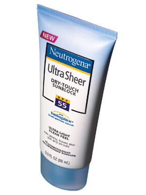 Neutrogena Ultra-Sheer Dry-Touch Sunblock SPF 55