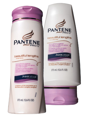 pantene pro v beautiful lengths shampoo and conditioner