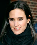 Jennifer Connelly-Late Show with David Letterman-Blush