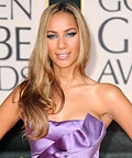 Leona Lewis-2010 Golden Globes-Nail Polish