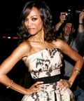 Zoe Saldana-Director's Guild Awards-Nails