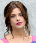 Ashley Greene-pink lipstick-Giorgio Armani show