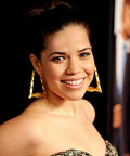 America Ferrera-skin-Our family wedding