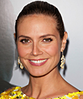 Heidi Klum-A Pea in The Pod-mascara-makeup