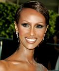 Iman-CFDA-Sam Fine-makeup