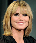 Heidi Klum-bangs-Late Night with Jimmy Fallon