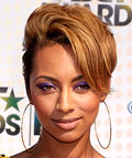 Keri Hilson-BET Awards-eye shadow-makeup