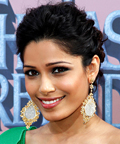 Freida Pinto-cheeks-Jeffrey Paul-The Last Airbender