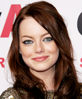 Emma Stone - Easy A premiere - Best Colored Eyeliner