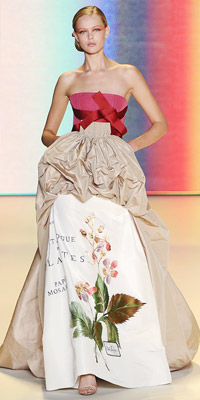 Carolina Herrera Spring 2011 Runway  :  spring bridal runway carolina herrera