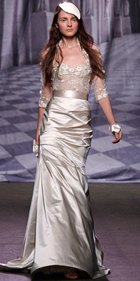 Monique Lhuillier - Wedding Gowns Inspired by Ivanka Trump - In Style Weddings from instyleweddings.com