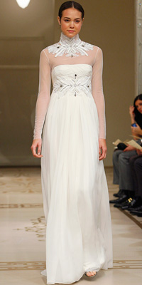 Reem Acra - Wedding Gowns Inspired by Ivanka Trump - In Style Weddings :  reem acra gown wedding gowns inspired by ivanka trump reem acra