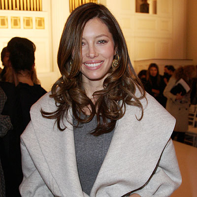 jessica biel hair color 2010. Fall 2010 Fashion Week