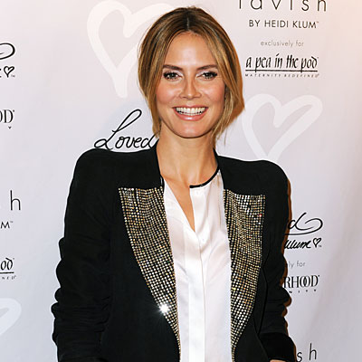 Heidi Klum Launches Maternity Lines