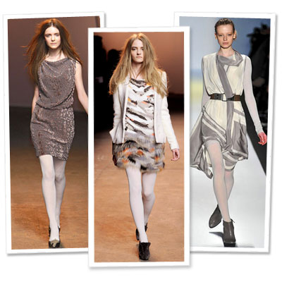 Fall Trend to Try Now: White Tights
