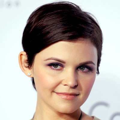 Ginnifer Goodwin-short hair-anh co tran. Frazer Harrison/Getty Images