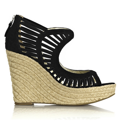 Edgy Cut-Out Wedges - Summer's Hottest Shoes - Summer Accessories - Fashion - InStyle :  hot summer shoes trends summer summer trends