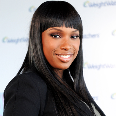 Jennifer Hudson-bangs