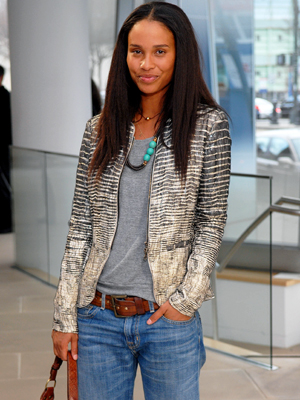 4. Layer on an Evening Jacket - 8 Ways to Dress Up Your Tee - Summer Fashion 2010 - Fashion - InStyle from instyle.com