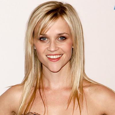 Reese Witherspoon: Heart-Shaped Face - Find the Best Bangs for Your
