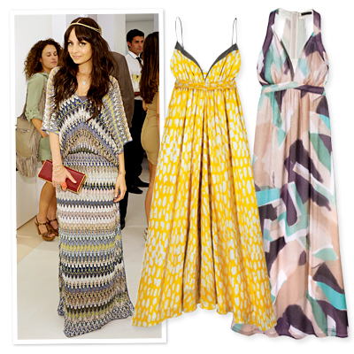 Maxidresses - Chic & Easy Looks for Hot Summer Nights - Summer Fashion 2010 - Fashion - InStyle from instyle.com