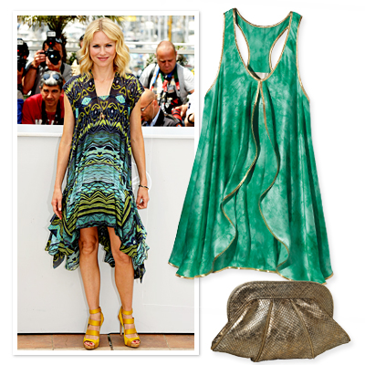 Cool Color Combinations - Chic & Easy Looks for Hot Summer Nights - Summer Fashion 2010 - Fashion - InStyle from instyle.com