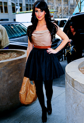 Kim Kardashian's Tips for Dressing a Curvy Body - Find a Great Tailor