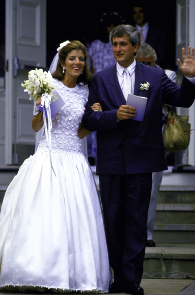 Caroline kennedy the best celebrity wedding dresses of for Caroline kennedy wedding dress