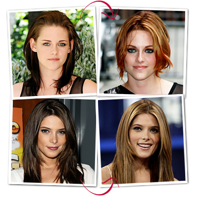 Ashley Greene  and Kristen Stewart
