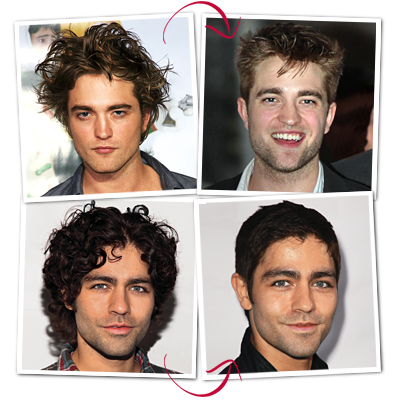 Adrian Grenier  and Robert Pattinson