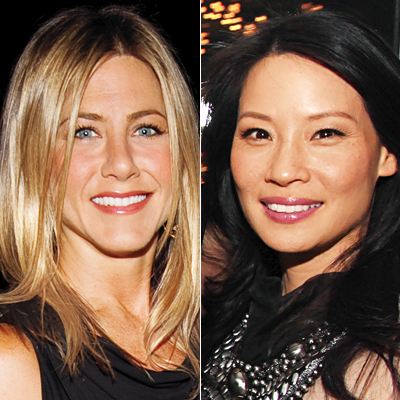 Jennifer Aniston, Lucy Liu