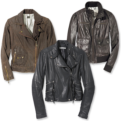 Shop the Leather Jackets Trend