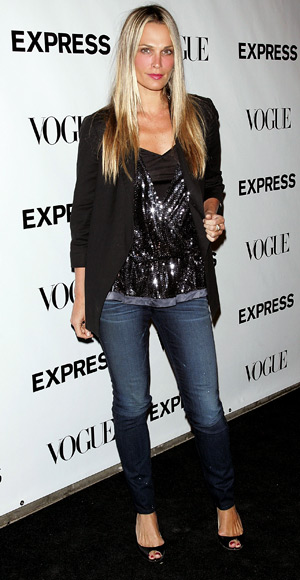 Molly Sims - Wear Sequins - Jeans Trends - Denim