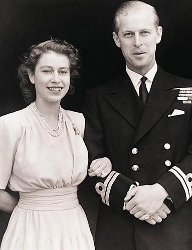 Queen Elizabeth II Engagement Ring