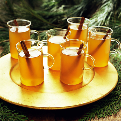 Spiked Cider - Hot Holiday Cocktails - Entertaining