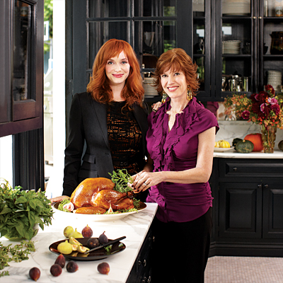 Christina Hendricks's Family Recipes - Christina Hendricks and Her Mom, Jackie Stept