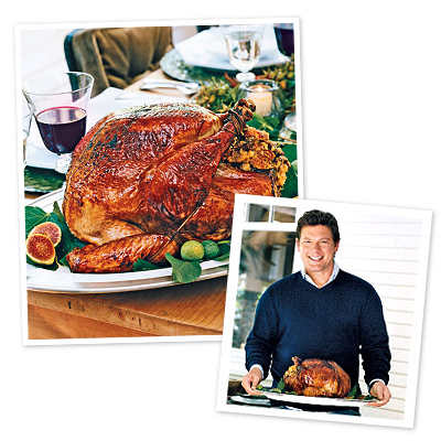 Tyler Florence Turkey Interesting Of Top Turkey Recipes  Tyler Florence's Roast Turkey with Cornbread  Photo