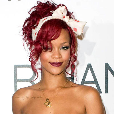 Rihanna Tattoos on Celebrity Tattoos Revealed