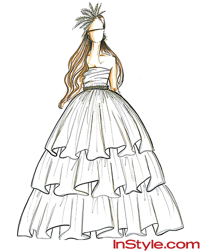 Fashion Designers Sketch Kate Middleton's Wedding Dress - Shoshanna