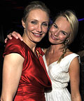 Cameron Diaz and Kate Bosworth - InStyle/Warner Bros After Party - Beverly Hills