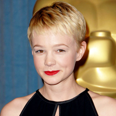 Carey Mulligan-Blond Hair-Oscar luncheon