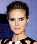 Heidi Klum-New York City Fashion Week-mascara-makeup
