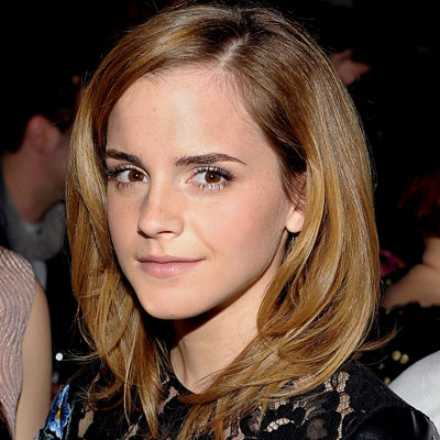 emma watson hair color. Emma Watson-LONDON show