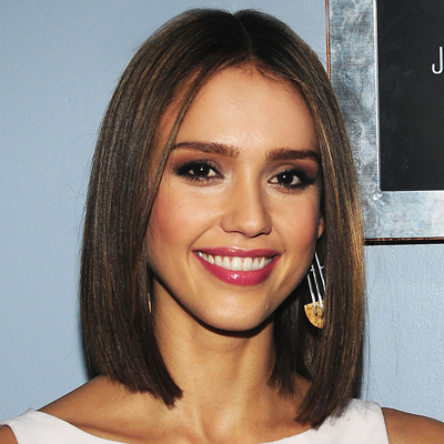 Jessica Alba - hair - Renato Campora - Jimmy Fallon