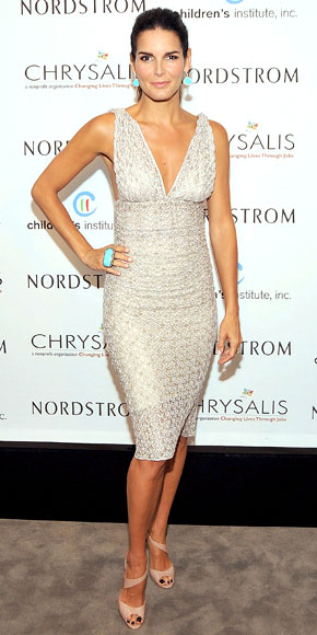 Angie Harmon in Missoni